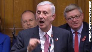 Lindsay Hoyle elected as UK Parliament Speaker