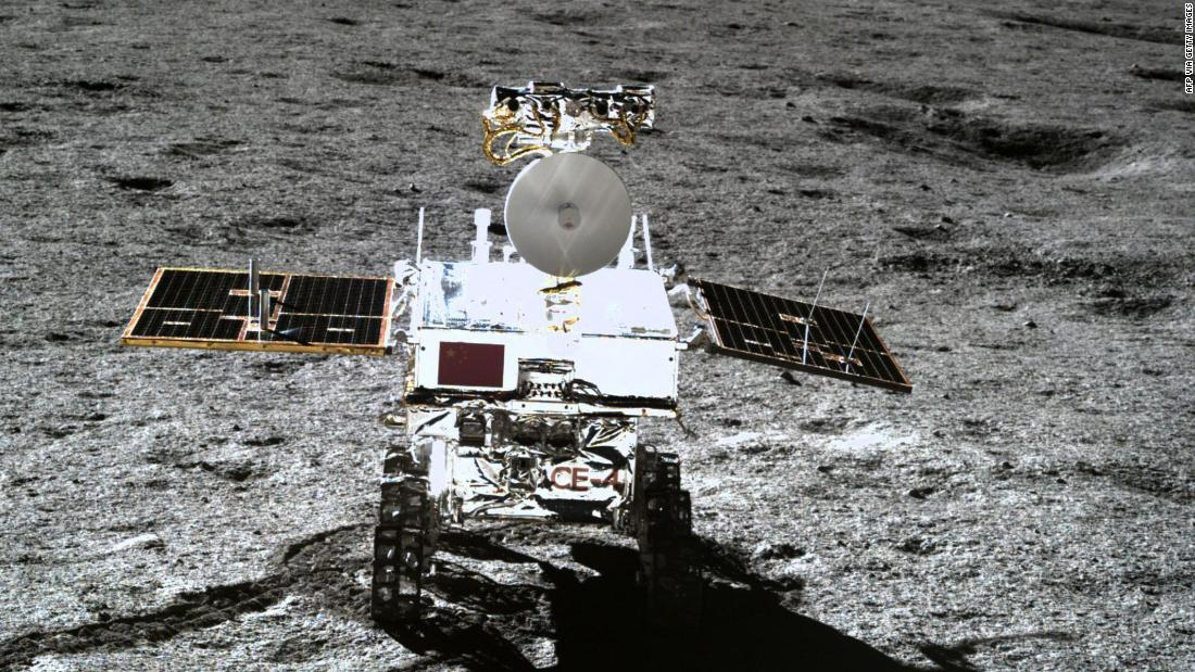 The rover, which will be built in Dubai, is much smaller than the last rover successfully deployed on the moon; China's Yutu-2 has six wheels and weighs 140 kilograms (310 pounds).