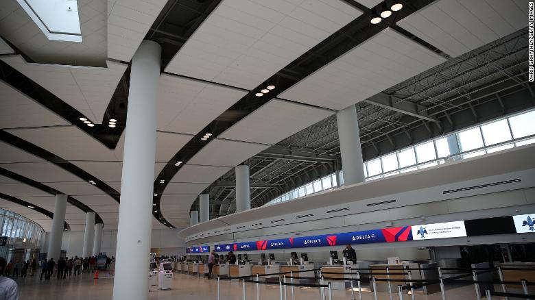 New Orleans airport opens new terminal   CNN Travel