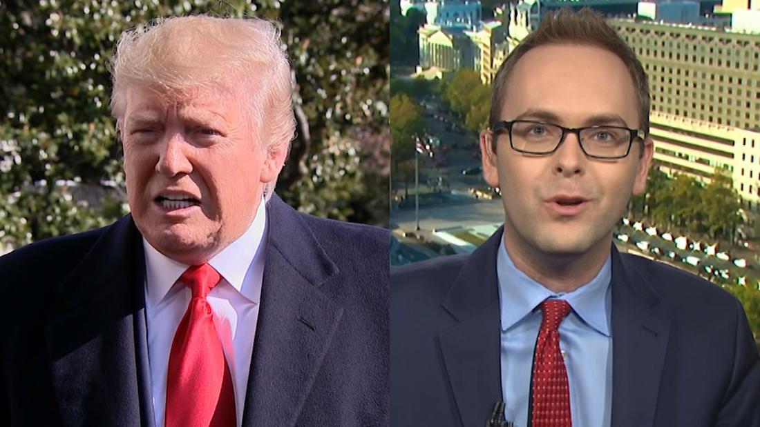 CNN-reporter: Trump lied über eine Geschichte, die auf seinem portrait