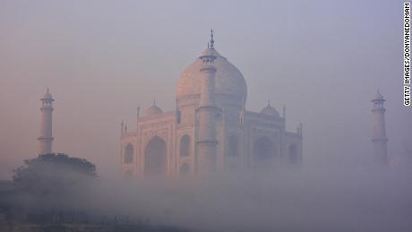 Taj Mahal gets its own air purifiers as India chokes on smog