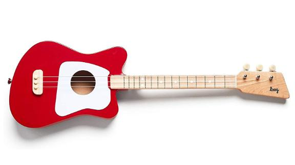 Loog Mini Guitar ($79; amazon.com): With a three-string design, this first guitar made of real wood is a contender for the Rock & Roll Toy Hall of Fame. Nice extra: Flash cards to help preschoolers learn chords. Move over, Eric Clapton.