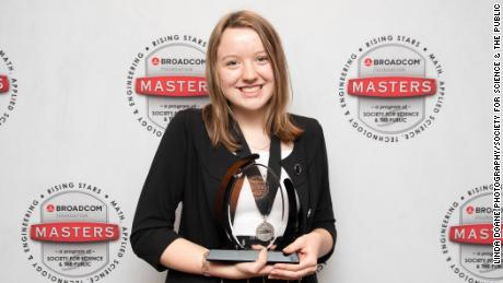 Gassler competes against 29 other high school students at Broadcom MASTERS. When she won, she said she was genuine