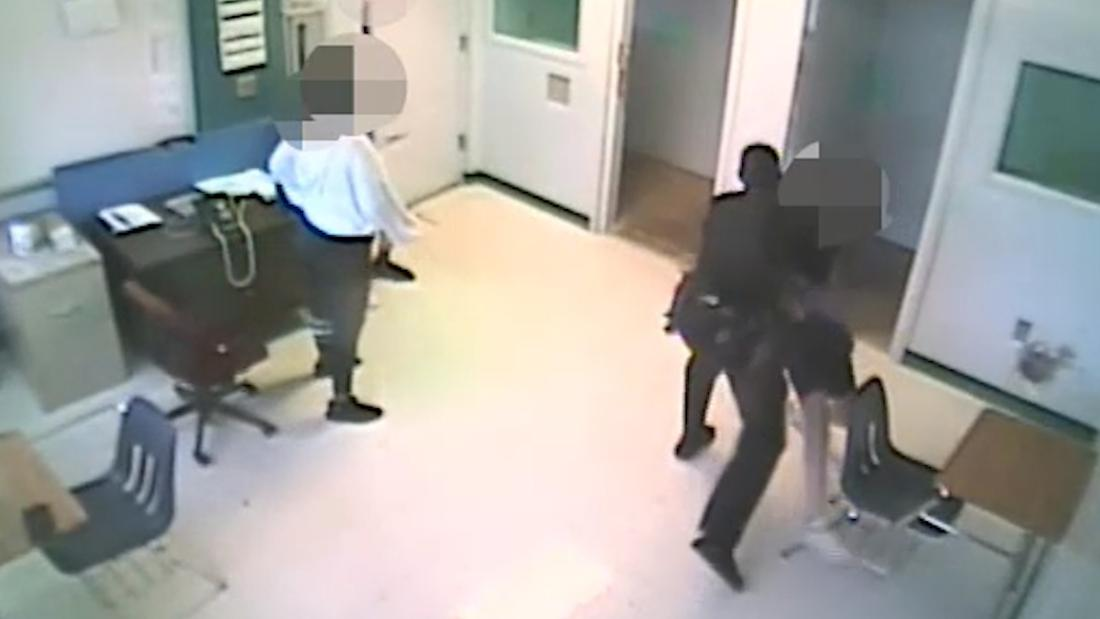 Video shows school officer slam 15-year-old girl
