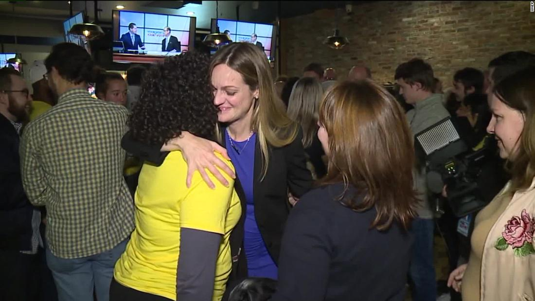 First woman is elected mayor of Scranton, as an independent after sparring with Democratic machine