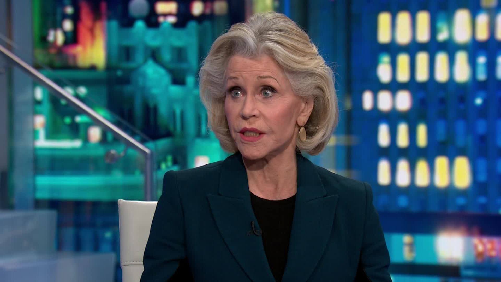 Jane Fonda says this is the new normal - CNN Video