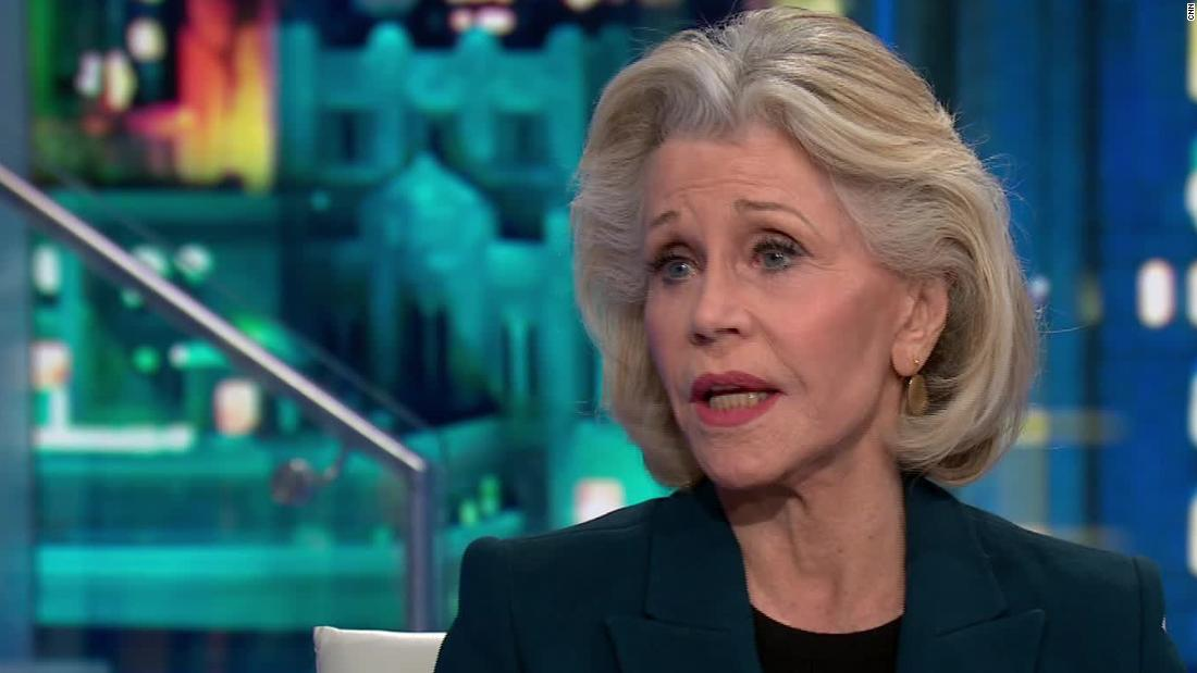 Jane Fonda: je schneller wir uns bewegen über den Trumpf der besseren