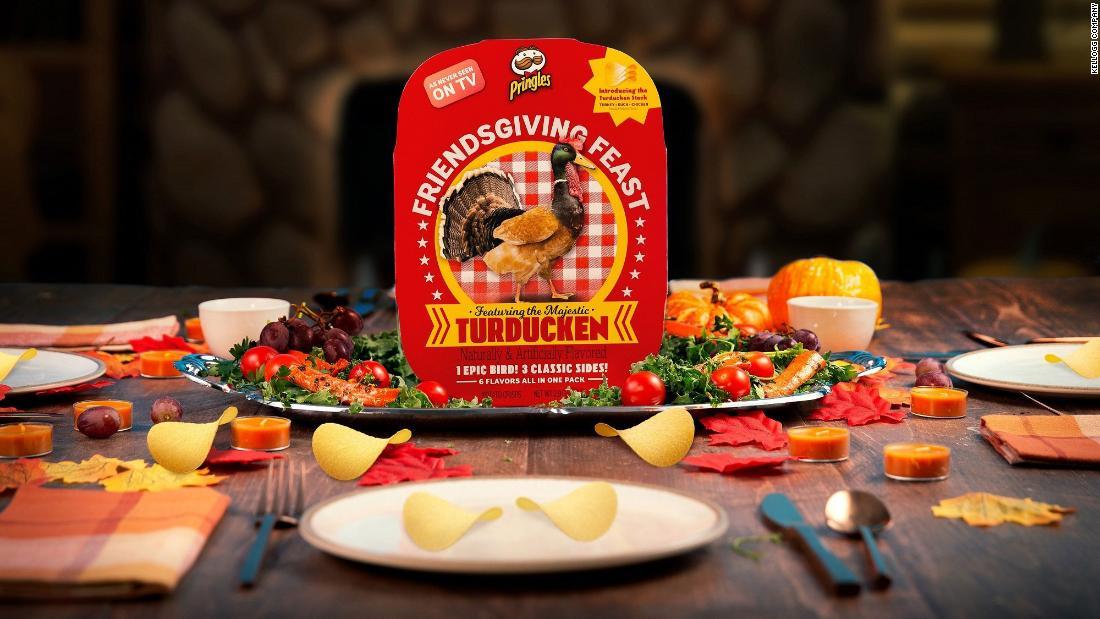 Pringles präsentiert turducken-gewürzte chips für eine noch knuspriger Thanksgiving-fest