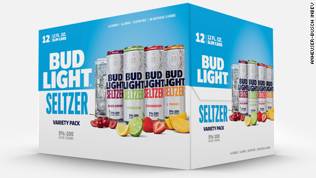 Bud Light Seltzer comes in a variety of flavors.