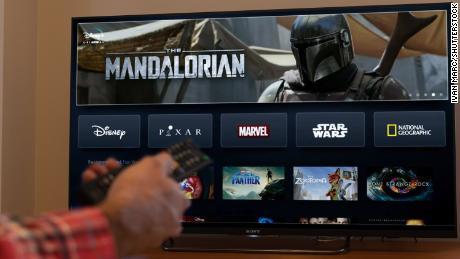 "Disney+, which launches November 12, will include a few original ""Star Wars"" series including its flagship show ""The Mandalorian."""