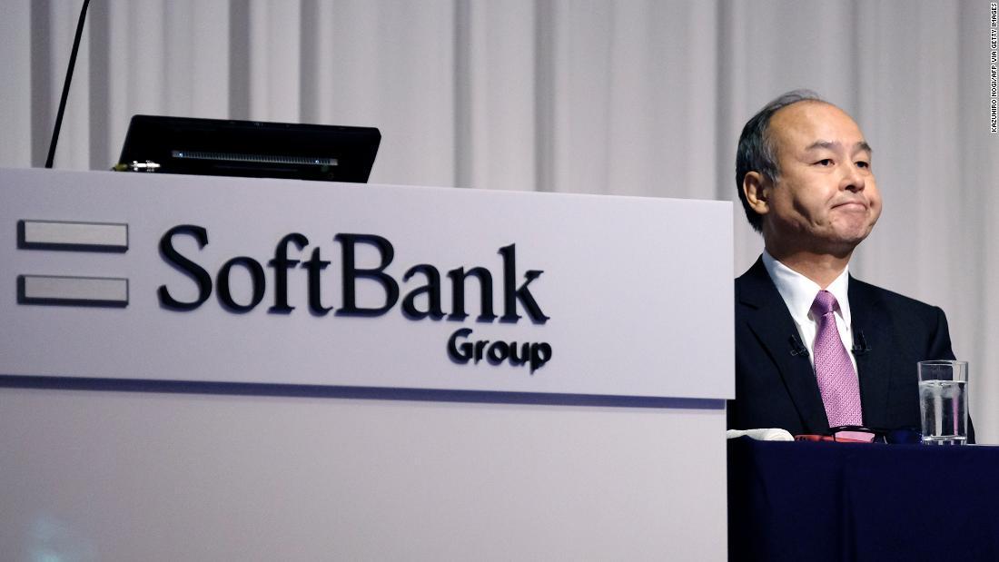 Der SoftBank-Aktie fällt nach dem schrecklichen Ergebnis berichten