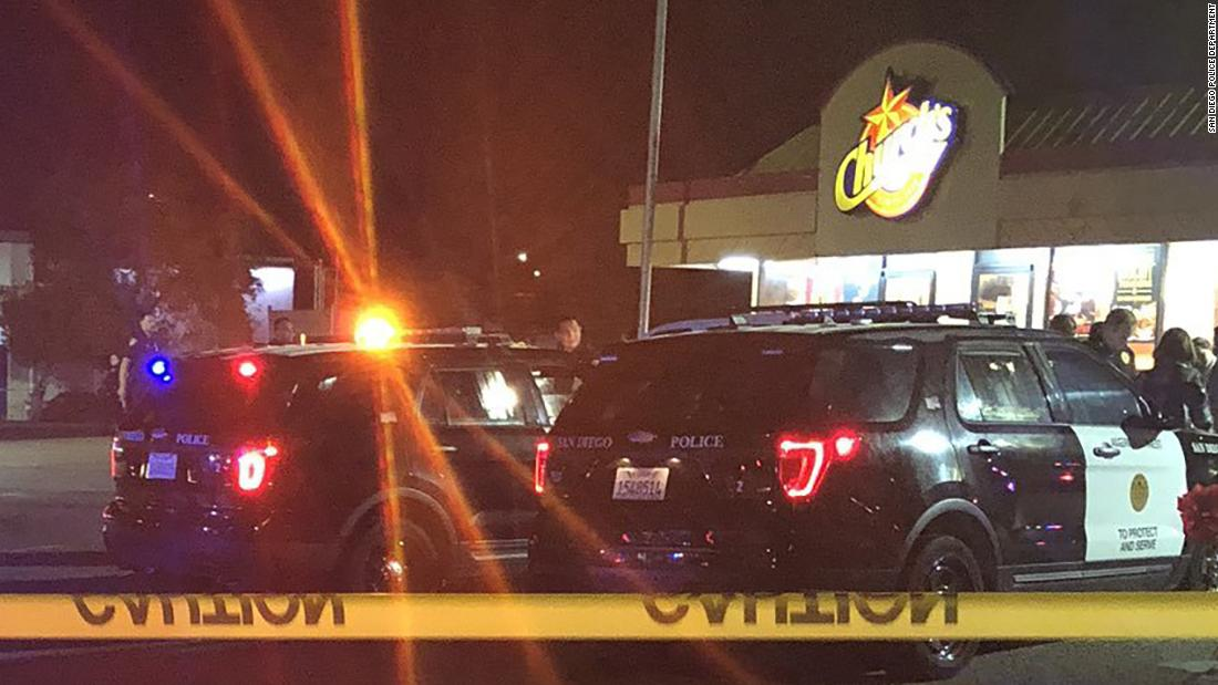 1 dead, 2 injured and gunman is still at large after shooting at Church's Chicken