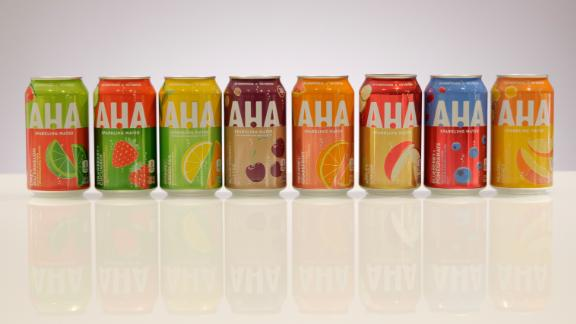 Coca-Cola is launching a new line of sparkling waters called AHA next year.