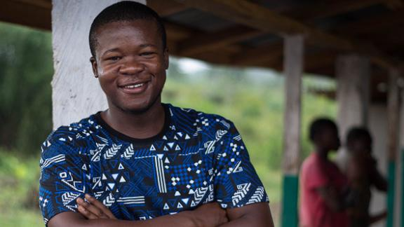 Johnson, 28, hopes to expand his model of working with rural communities to other countries in West Africa where oil palm grows wild.