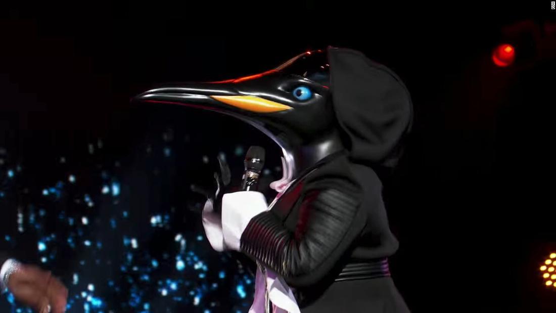 'The Masked Singer' reveals celeb behind the penguin mask