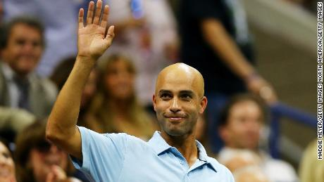 Since retiring from professional tennis, James Blake has turned to philanthropy and charity work.