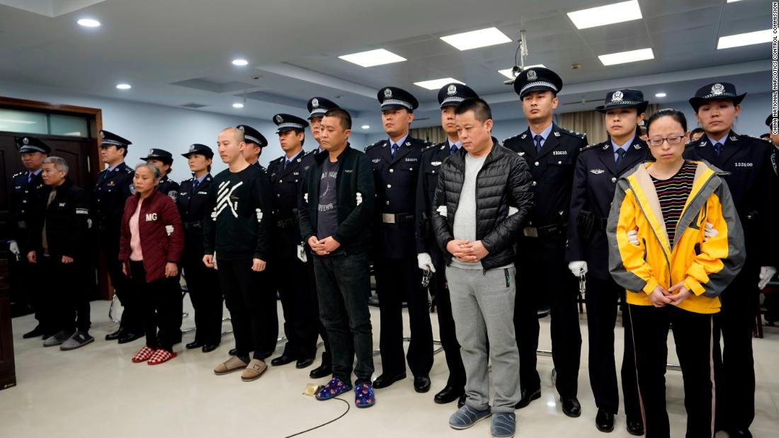 China sentences fentanyl drug ring in rare public trial amid US trade talks