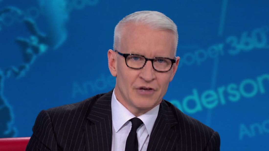 Anderson Cooper eulogizes sekarang sudah tidak berfungsi Trump Yayasan