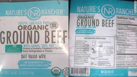 More than 130,000 pounds of ground beef were recalled.