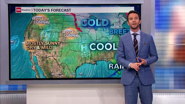 An Arctic blast is bringing a week of below-freezing temperatures to parts of the eastern United States