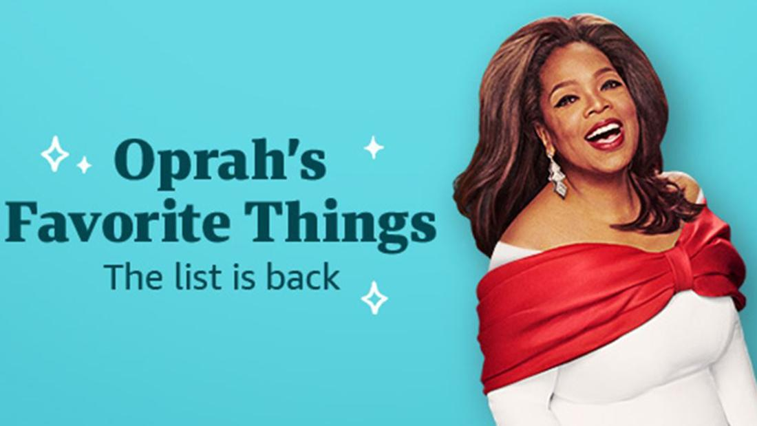 Oprah's Favorite Things list is live