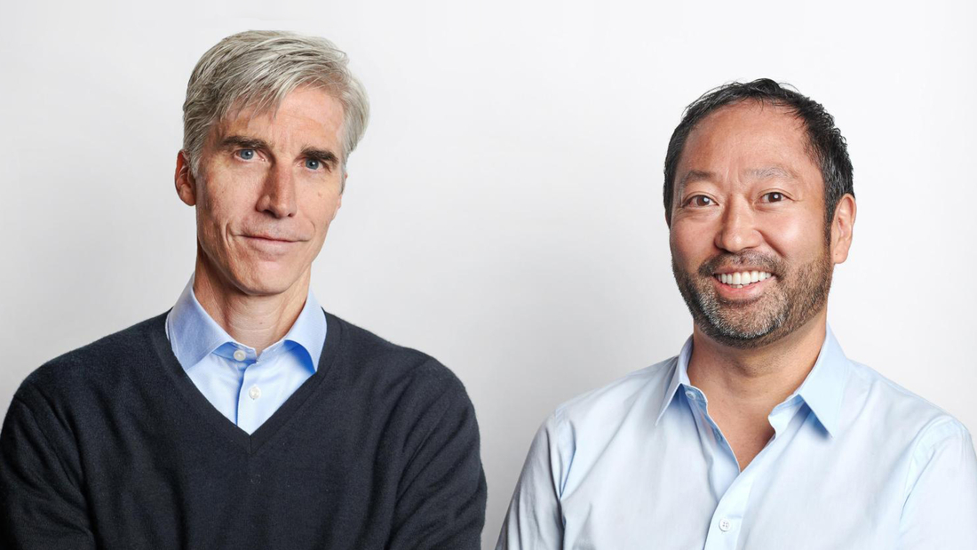 Level Home founders John Martin [left] and Ken Goto.