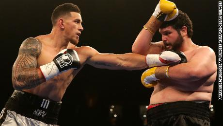 Sonny Bill Williams has an undefeated 7-0 record as a professional heavyweight boxer.