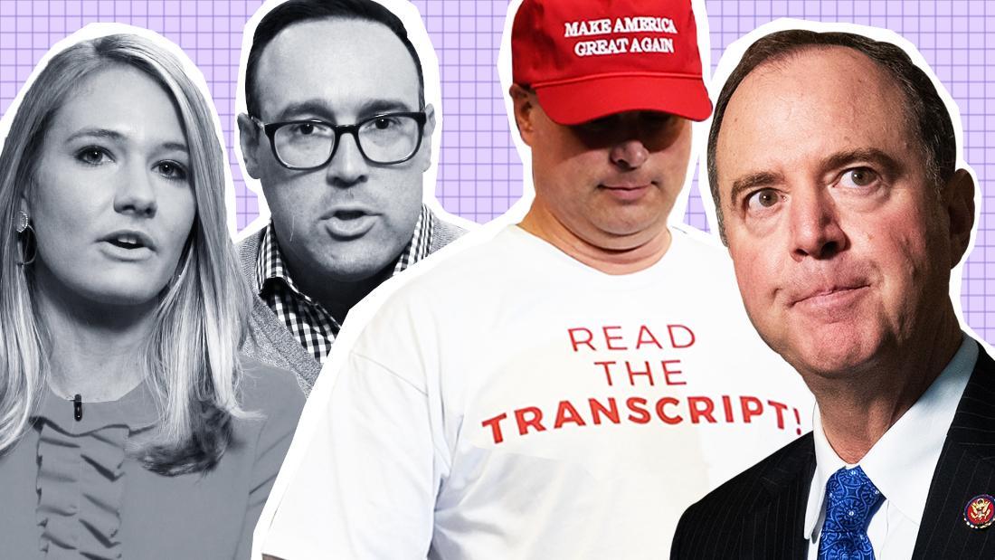 Wie Transkripte entlarven GOP Anklage von sich reden