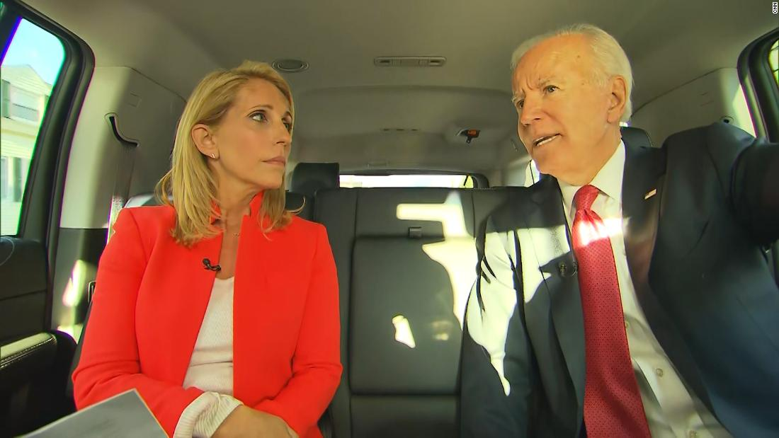 Biden responds to Warren's comments on 'angry' charge