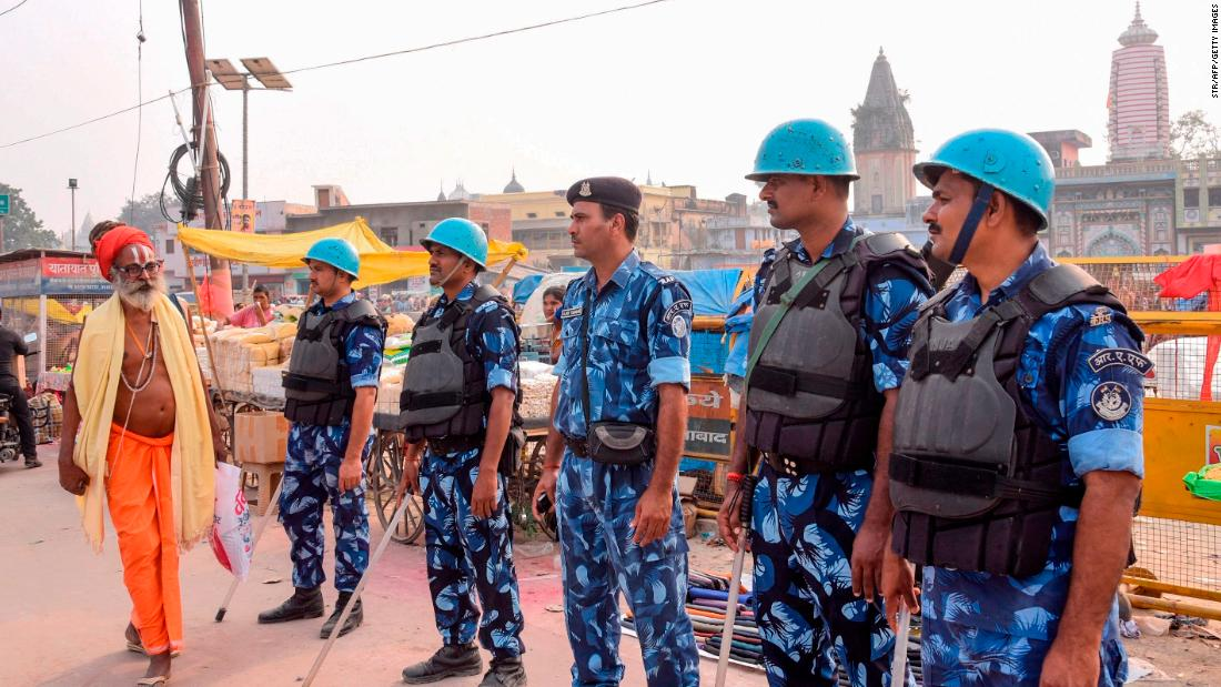 ヒンドゥー教徒可構築紛争の聖地、インド最高裁判所が規則