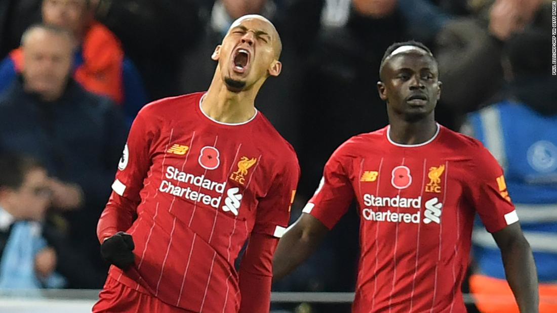 Liverpool beats title rival Man City in pulsating clash