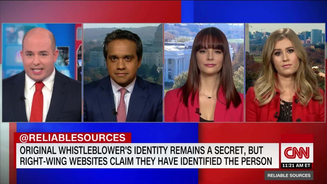 Right-wing fixation with the whistleblower's identity