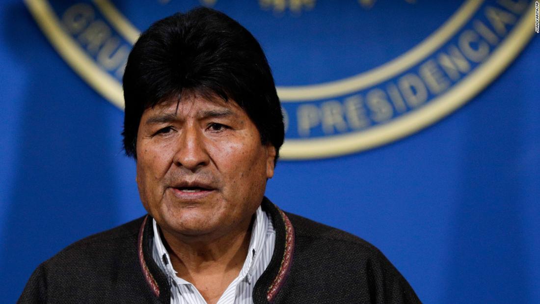 Bolivia Presiden mengundurkan diri
