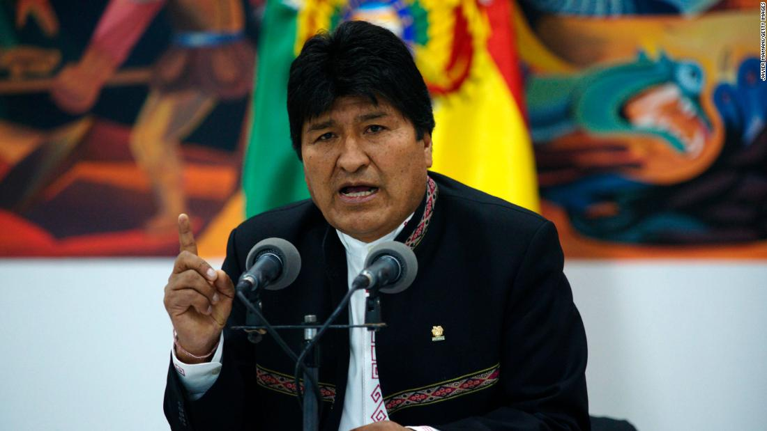 Bolivia's blunt message to leaders drunk on power