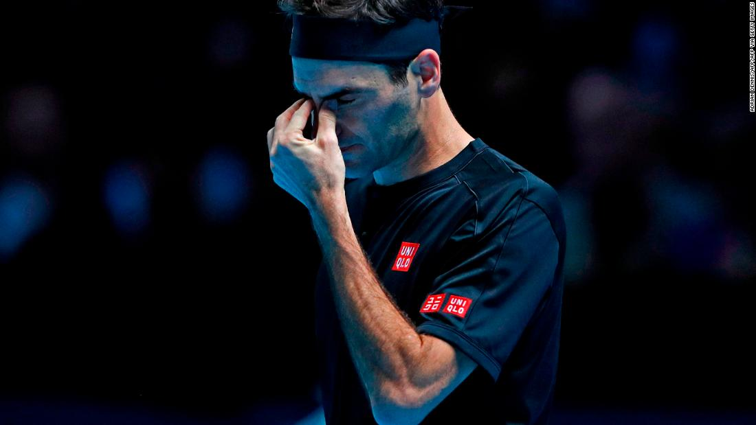 ATP Finals: Roger Federer crashes to opening defeat to Dominic Thiem
