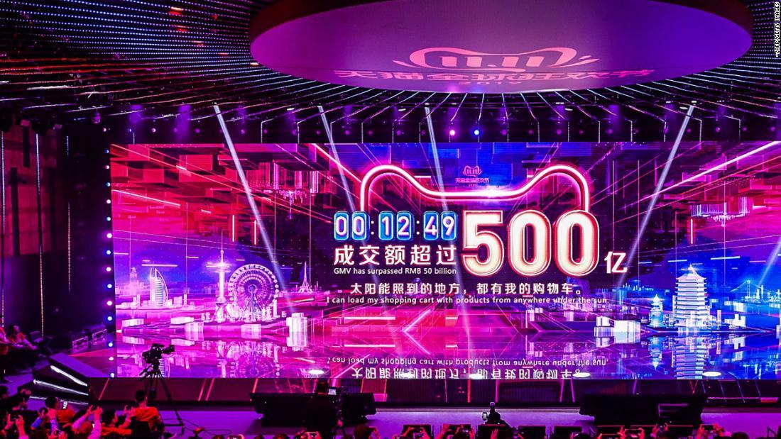 Alibabas Singles Day sales top $24 Mrd.