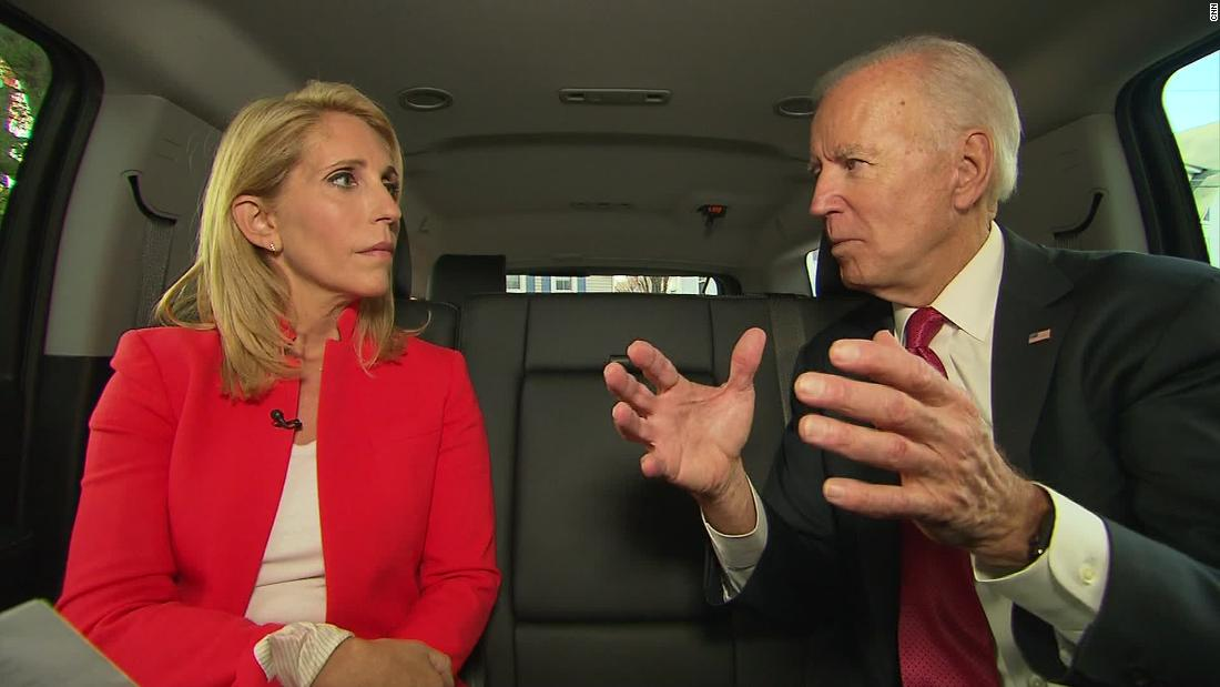 Biden: Trump 'gigantic impediment' to US moving forward