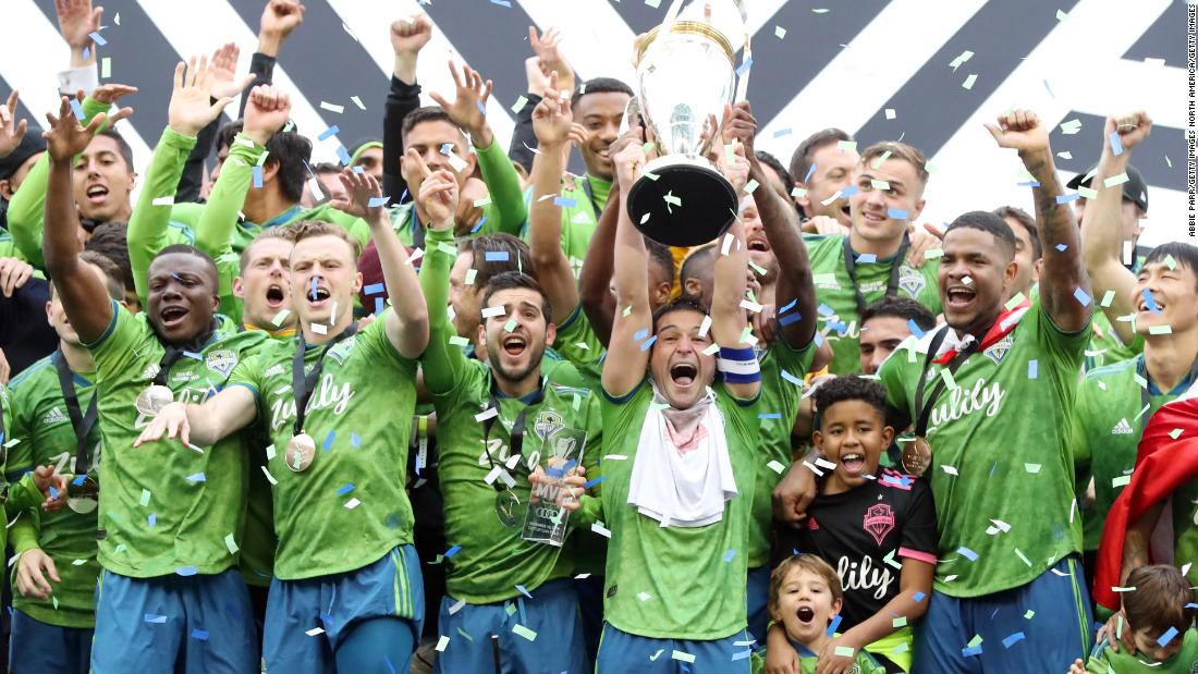 Seattle Sounders' coach feels the love after MLS Cup victory
