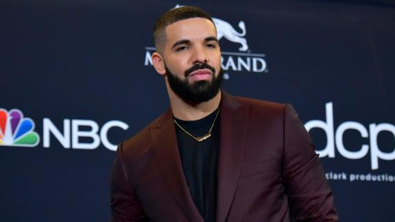 Drake at the Billboard Music Awards in Las Vegas in May (Photo by Richard Shotwell/Invision/AP, File)