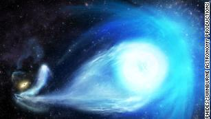 The Milky Way's black hole kicked a star out of our galaxy