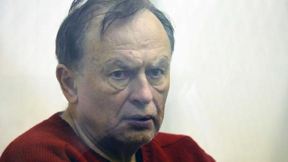 Russian professor Oleg Sokolov attends a court hearing in Saint Petersburg on November 11, 2019.