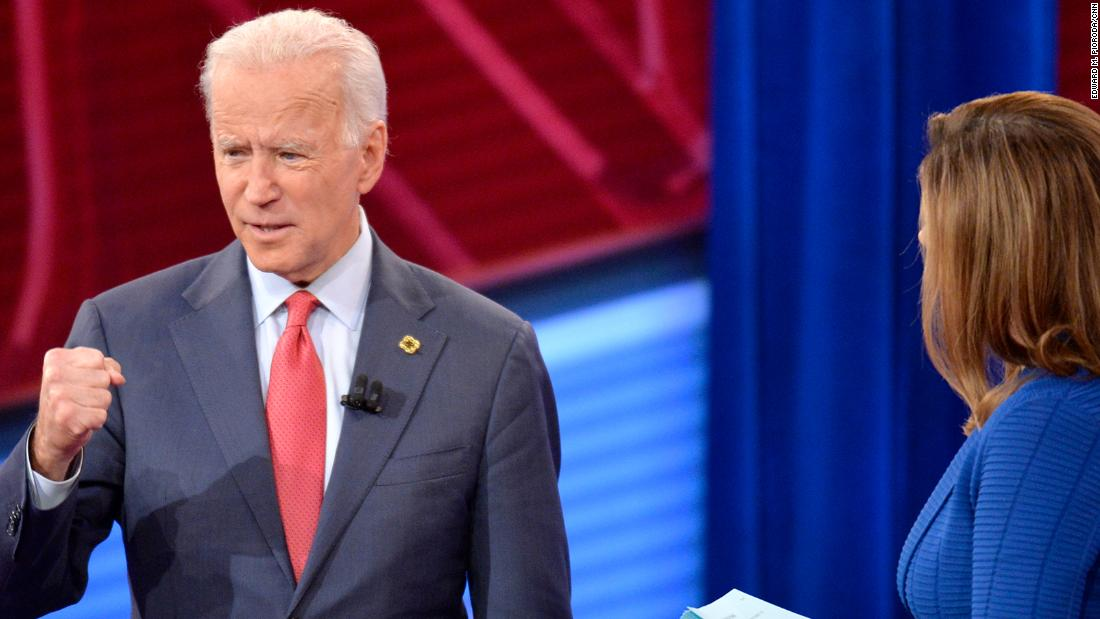 Biden says helping those who are grieving gives him a sense of purpose