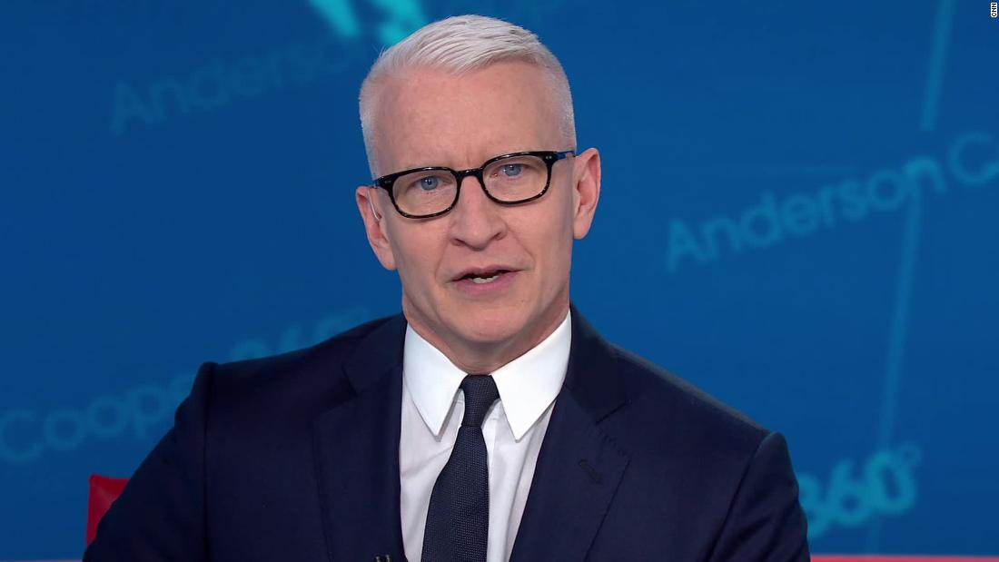 Anderson Cooper: Ατού είναι να πάρει την ευχή του