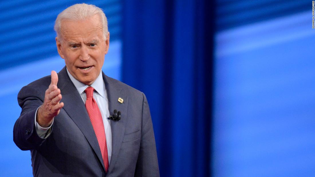 Joe Biden on Elizabeth Warren: She attacked me