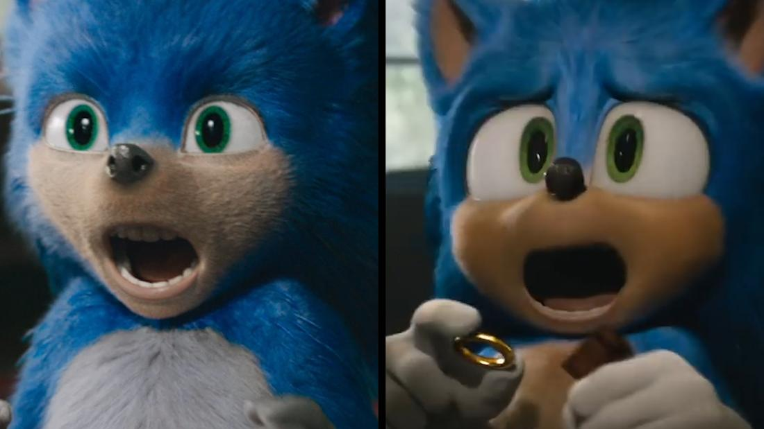 Sonic team adjusts his controversial look