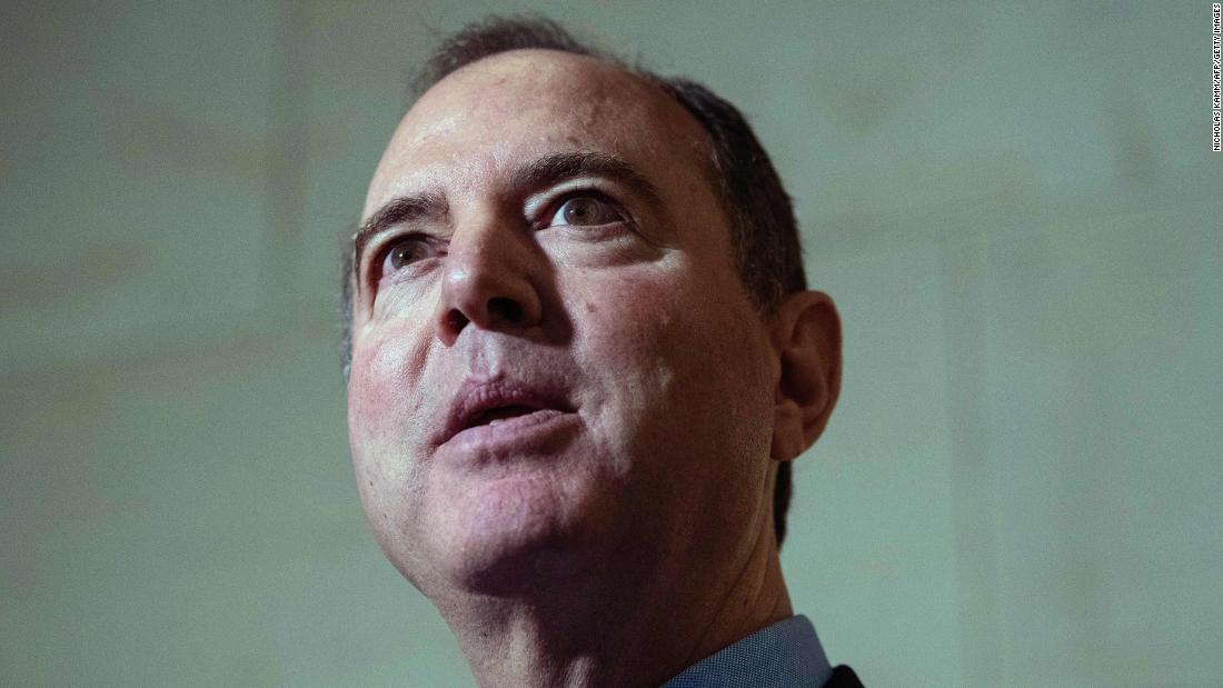Schiff calls Trump vindictive and says Trumps tweet was intended to intimidate