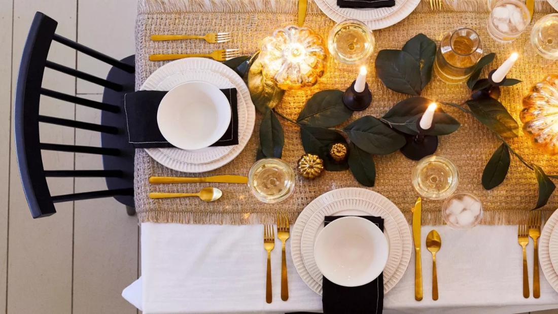 20 wunderschöne Ideen für Ihre Thanksgiving-Tabelle