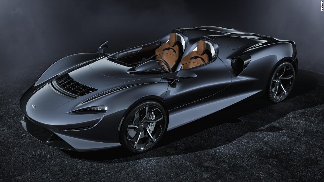McLaren enthüllt $1,7 Millionen Supersportwagen ohne Dach und eine Windschutzscheibe aus der Luft