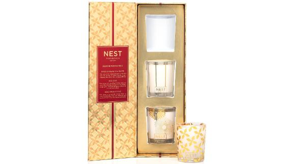 Nest Fragrances Classic Candle ($44; nordstrom.com): Candles might sound like the socks of home gifts, but remember when we said cashmere socks were the exception? Same goes for Nest candles. Luxurious with mellow scents, the candles come in sleek glass jars with matte stripes that will blend in on a bathroom counter or nightstand rather than stand out. And nearly 2,000 Amazon reviewers agree that this is the brand to invest in. The hardest part is choosing between best-selling scents Bamboo, Moroccan Amber, Grapefruit and Ocean Mist & Sea Salt — and whether you splurge on the three-wick stunner.
