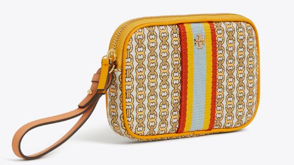 Tory Burch Gemini Link Wristlet ($128, toryburch.com): Perfect for the women who